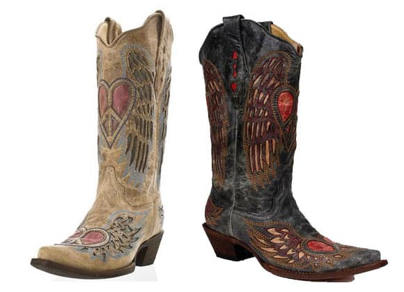 Corral Heart Cowboy Boots - Cowgirl Magazine