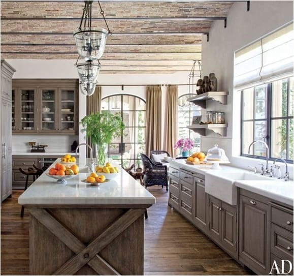 Rustic Kitchens That Draw Inspiration