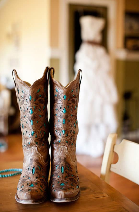 Cowboy Boots and Weddings - Cowgirl Magazine