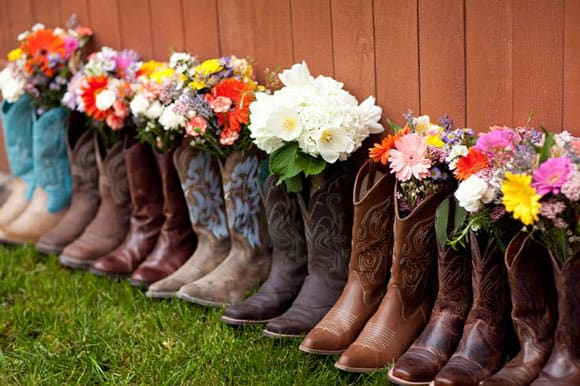 The Perfect Boots and Bouquet - Cowgirl Magazine