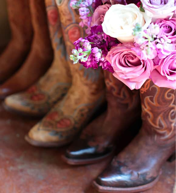 the perfect boots and bouquet cowgirl magazine