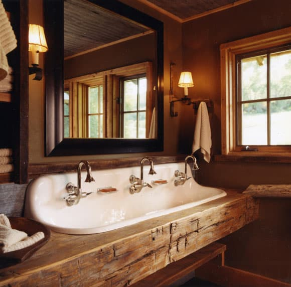 Rustic Wooden Sink