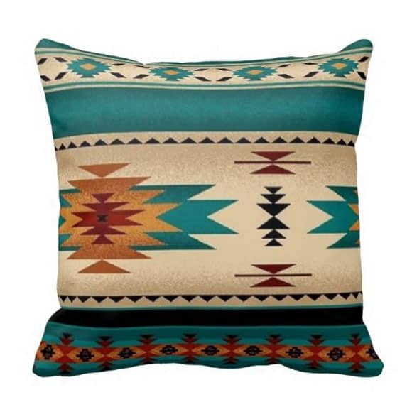 Turquoise Pillows for the Home - Cowgirl Magazine