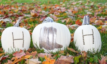 Cowboy-Boot-and-Initial-Studded-Pumpkins-by-Horses-Heels