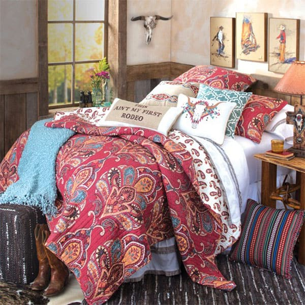 this ain t my first rodeo quilt and bedding set is perfect for you