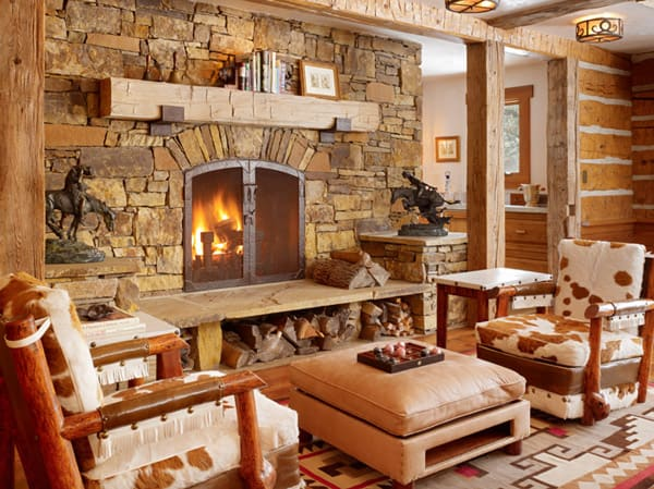 Home envy cozy fall fireplaces cowgirl magazine for 7 cosy living room looks for autumn