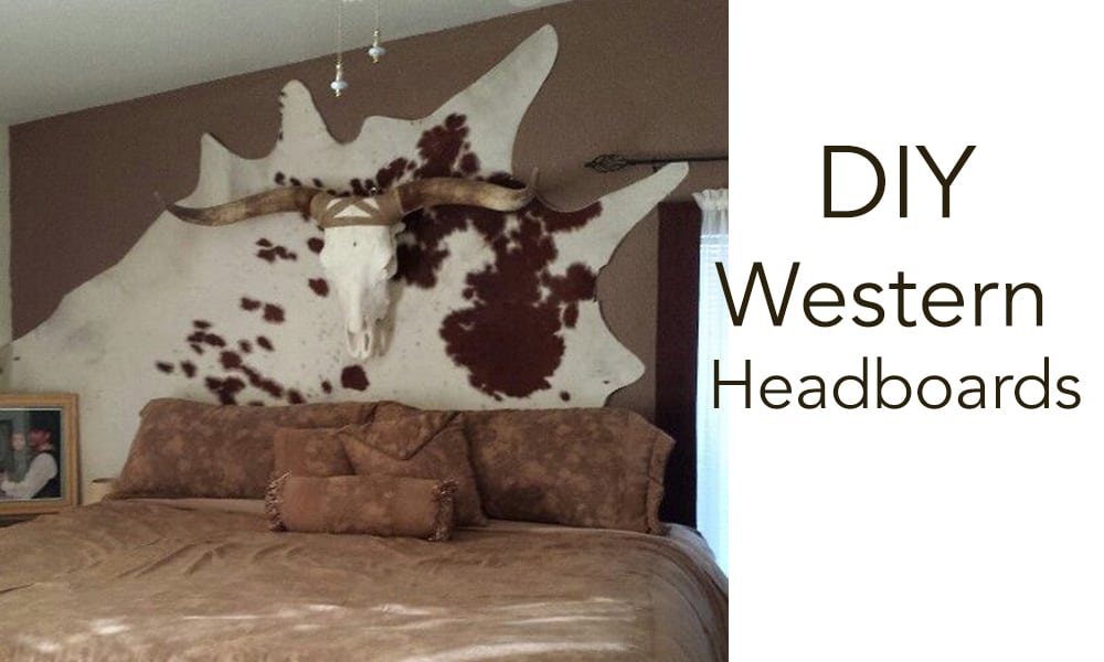 DIY Western Headboards and Alternatives