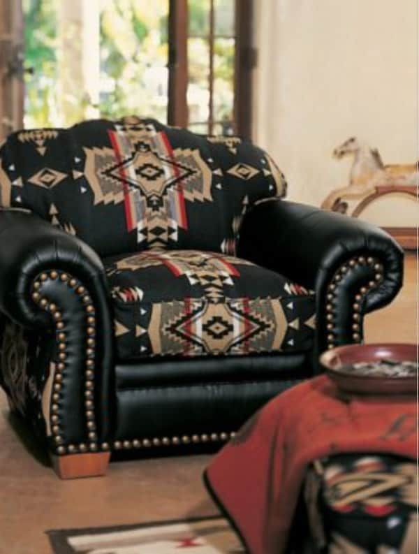 Pendleton furniture crushes cowgirl magazine for American indian design and decoration