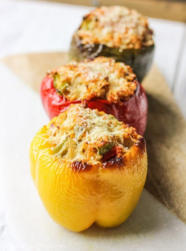 thanksgiving-leftovers-stuffed-bell-peppers