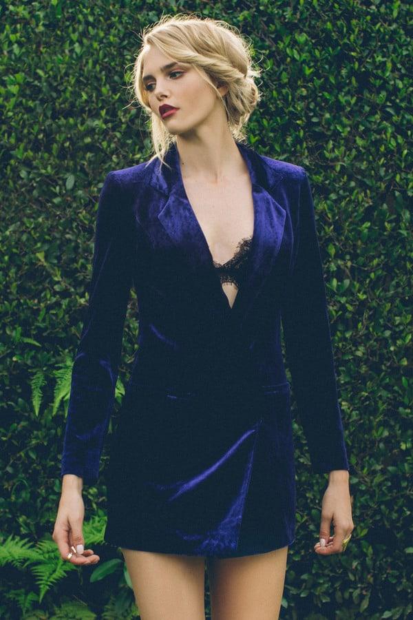 tobi-cara-velvet-blazer-dress