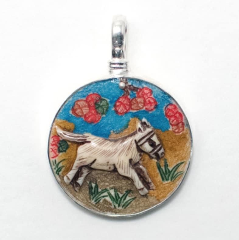 Horse pendants