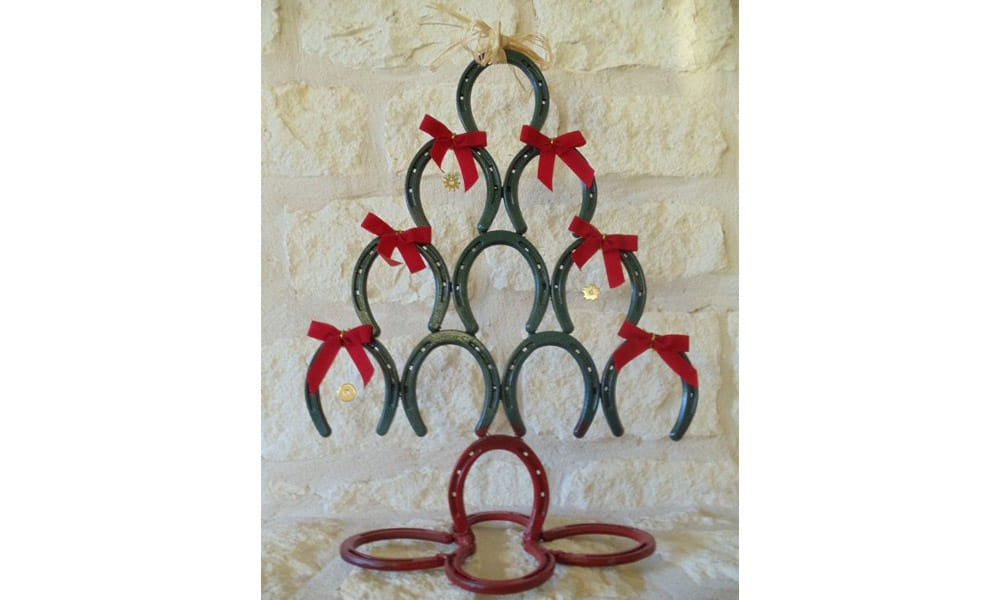 Horseshoe Christmas Trees