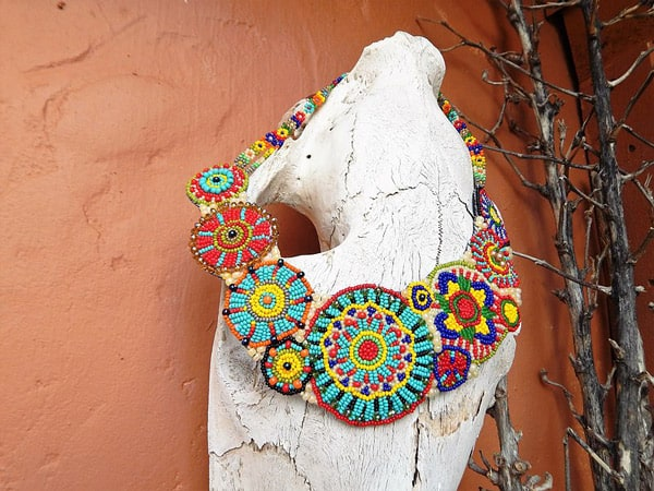 Colorful-Beaded-Collar-Necklace-by-Mad-Cow-Company
