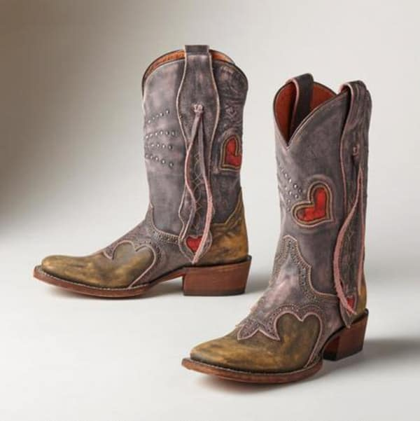 Heart Cowboy Boots for Valentine&39s Day - Cowgirl Magazine