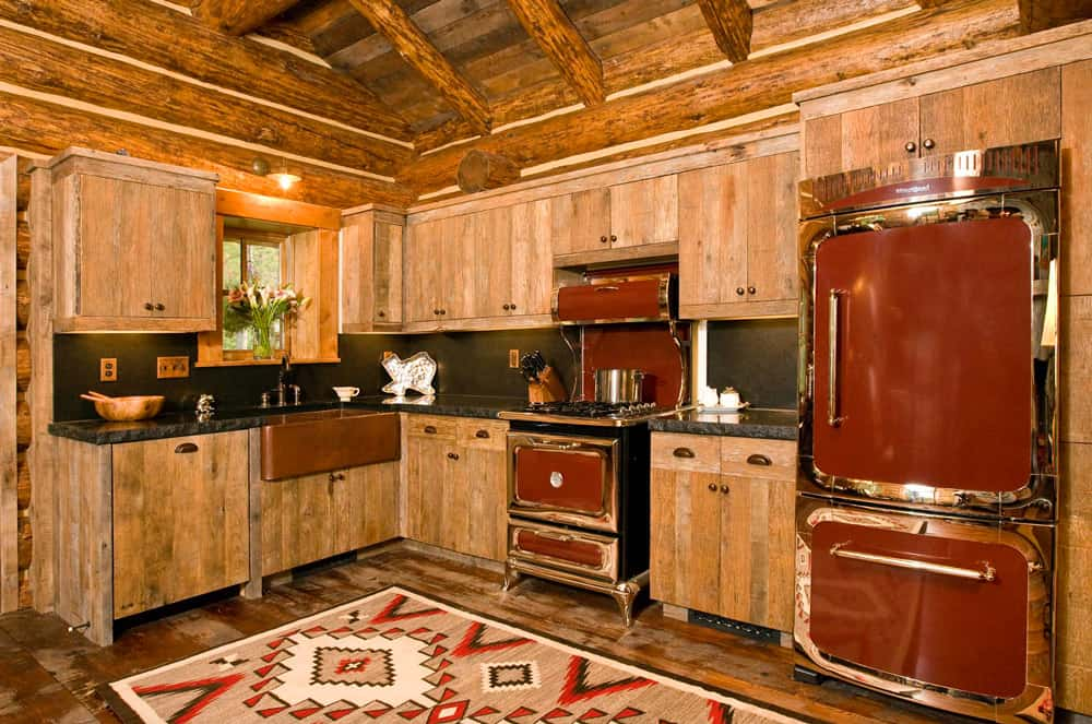 Rustic-red-kitchens