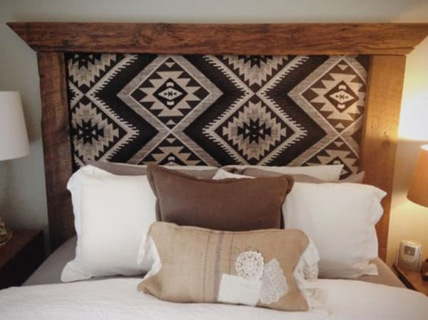 59 Incredibly Simple Rustic Décor Ideas That Can Make Your: DIY Southwest Fabric Projects