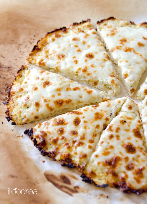 Cauliflower Pizza Crust Recipe — Dishmaps