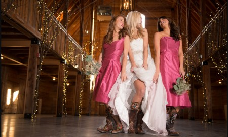 Cowgirl - Wedding Boots