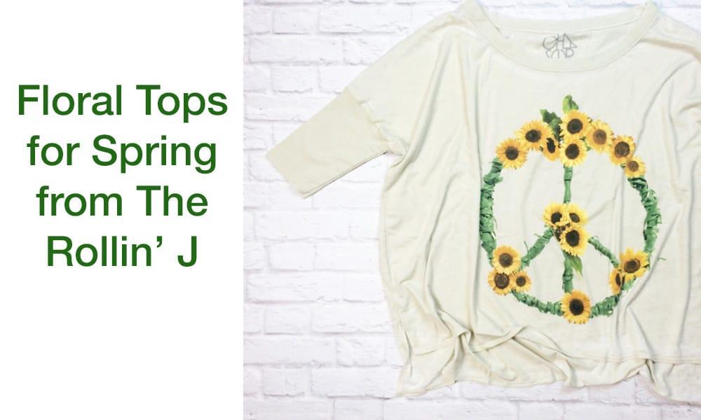 floral tops for spring