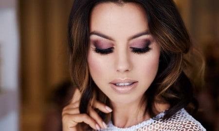 mauve-makeup-look