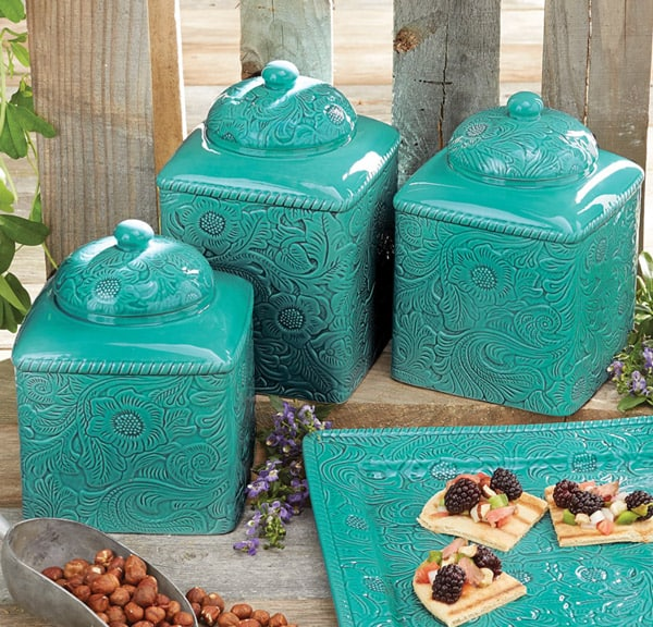 Cowboy Kitchen: Western Canisters For A Cowgirl's Kitchen