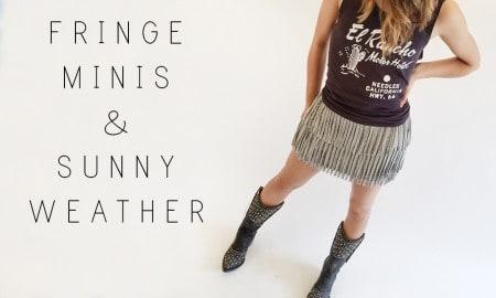 Cowgirl - Fringe Minis