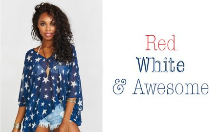 Cowgirl - Red, White & Blue