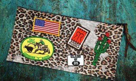Cowgirl - Leopard Clutch