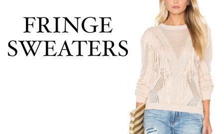 Boho Fringe Sweaters