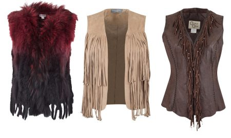 Fancy Fringe Vests for Fall Layers