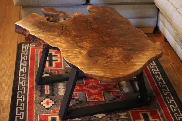 Rustic-wood-coffee-table
