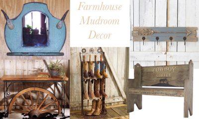 furniture for the perfect farmhouse mudroom
