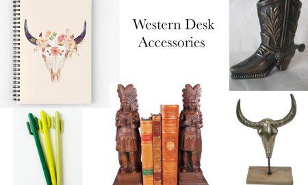 Western desk accessories