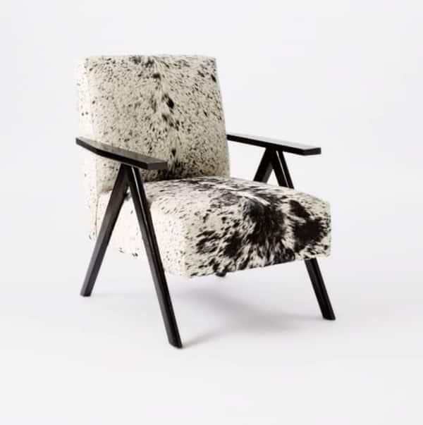 Cowhide Furniture With A Modern Twist