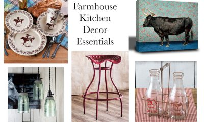 farmhouse kitchen decor essentials