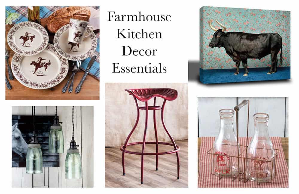 farmhouse kitchen decor essentials - cowgirl magazine