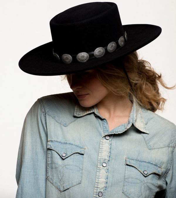 Concho-hat-band