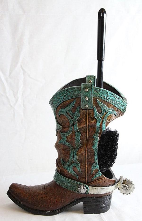 cowboy-boot-toilet-brush-holder