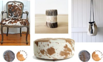cowhide accessories