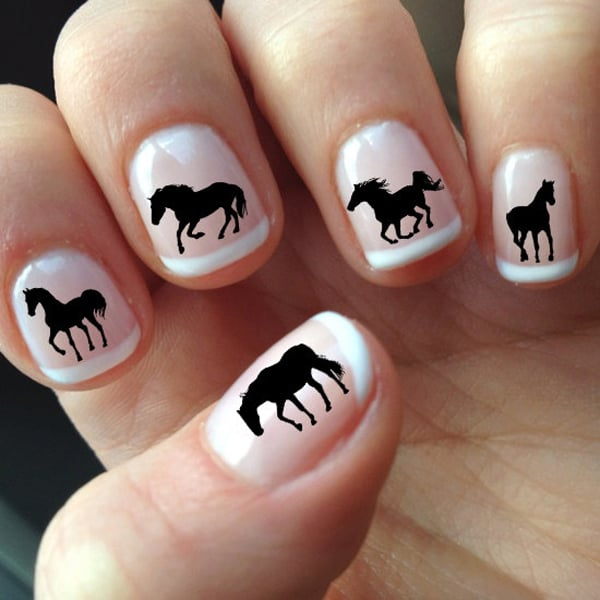 horse-art-decal-nails