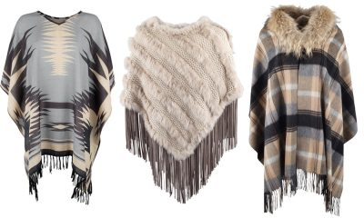 neutral ponchos