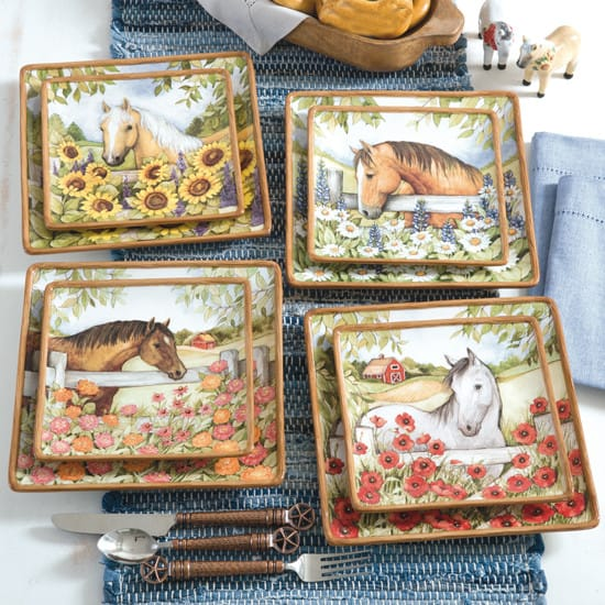 blooms amp horses kitchen collection page 2 of 5 cowgirl kitchen collection magazine media kit info