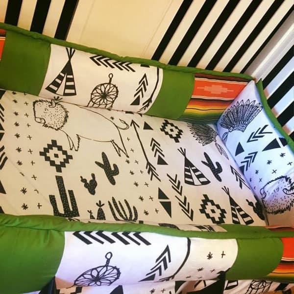 buckin' chute babies bedding cowgirl magazine