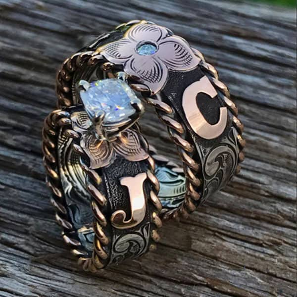 wedding ring cowgirl wedding ring turquoise cowgirl magazine