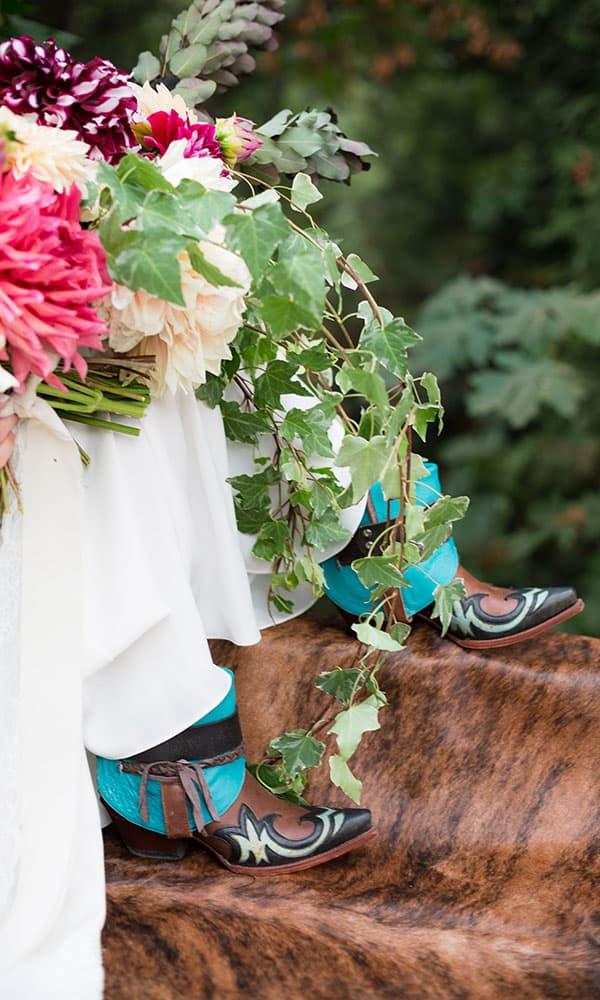 cowgirl bridal photoshoot Natalie McFarland Productions Cowgirl Magazine