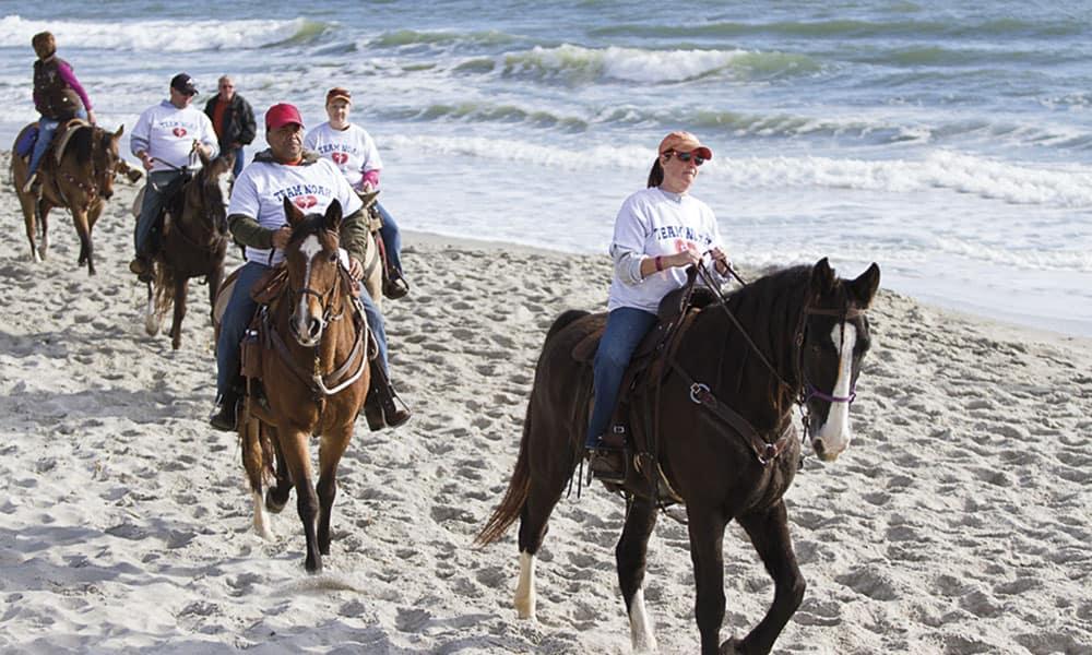 american heart association beach ride cowgirl magazine