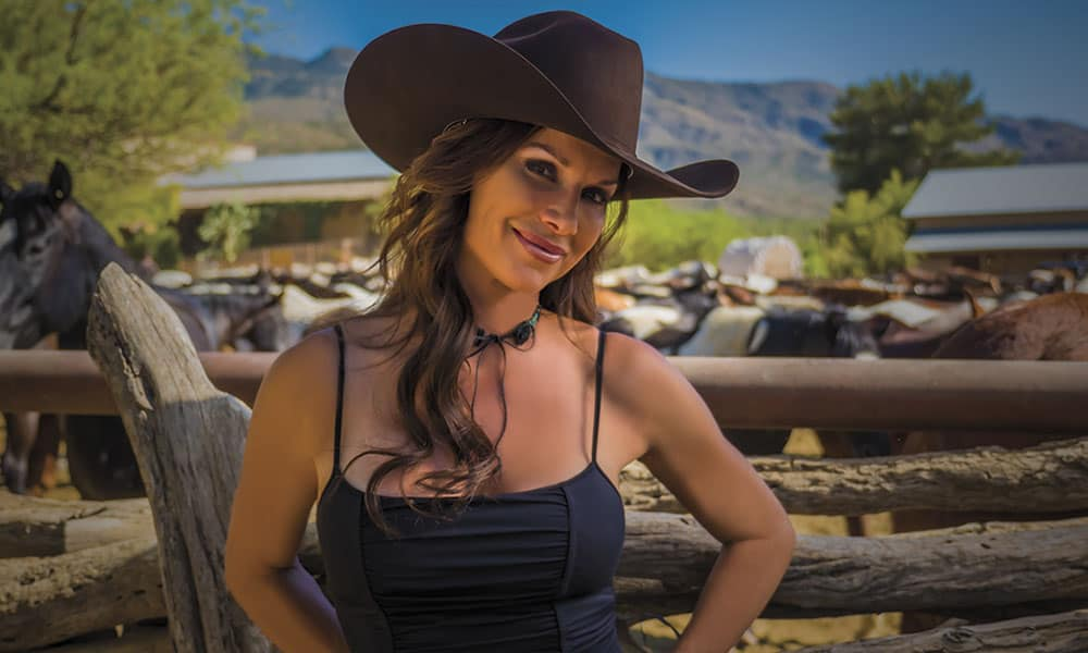 Debbe Dunning Dude Ranch Roundup Cowgirl Magazine