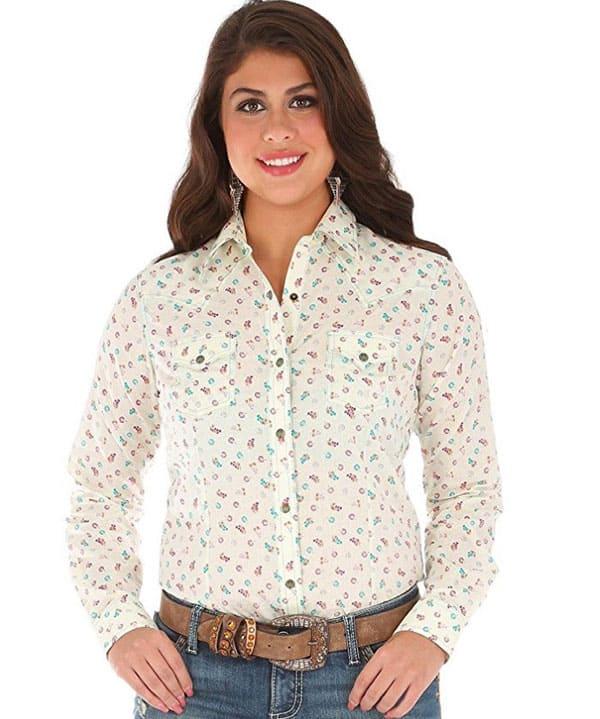 Horse Show Wrangler Western Shirts Cowgirl Magazine