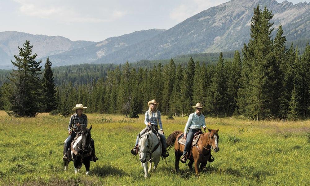 Lone Mountain Ranch Cowgirl Magazine