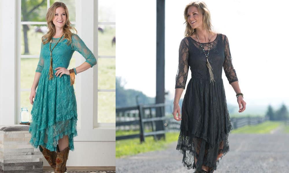 western dresses winter wedding fashion style cowgirl magazine